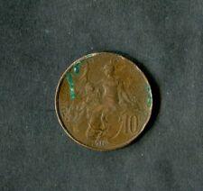 Francia: 1916 moneda de 10 céntimos