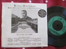 King DREAM CHORUS & HOLIDAY Crew-RE Vacanza Jab 29 UK Vinile 7 in (ca. 17.78 cm) SINGLE