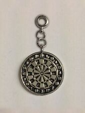 Small Dartboard with 5mm Hole to fit Pendant Charm Bracelet European refT16