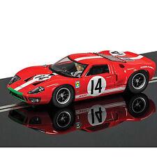 NEW SCALEXTRIC 1966 FORD GT40 LE MANS Scuderia Filipinetti No.14 SLOT CAR C3630