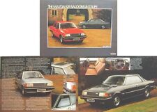 Mazda 626 Saloon & Coupe 1981-82 Original UK Sales Brochure Pub. No. 626/81/3