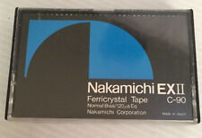 Vintage Nakamichi EXII C-90 Used Cassette Tape JAPAN