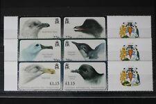 Britische Gebiete in der Antarktis 523-528 ** postfrisch als 3 Paare #WJ366