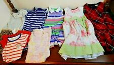 7 Girls Clothing Clothes Dresses Lot Carters Tunic Easter Party Holiday Plaid 5