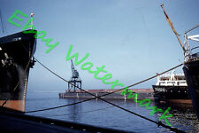 Billetal Hamburg Cargo  Ship  Port of Milwaukee 1959 Kodak 35mm Slide