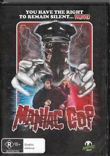 MANIAC COP -  NEW & SEALED  REGION 4 DVD FREE LOCAL POST