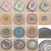 Jerusalem Fridge Magnets Greetings Tourist Souvenir Gift Round Magnetic Sticker