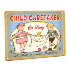 Child Caretaker On Duty Sign Daycare Center Babysitting Nursery Toddlers Decor