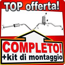 Scarico Completo OPEL ASTRA J 1.4 87/101CV Familiar Marmitta X86