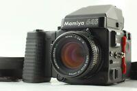 【MINT】 Mamiya M645 Super AE Prism Finder + Sekor C 80mm f/2.8 N From Japan 1015