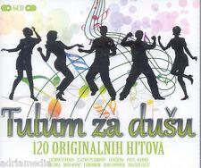 TULUM ZA DUSU 6 CD 120 hitova Tomislav Ivcic Jasmin Zlatko Severina Vuco Oliver