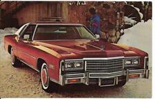 1978 Cadillac Eldorado Dealer Postcard - Unposted