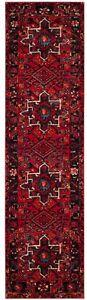 Area Rug 2 ft. x 8 ft. Polypropylene Floral Pattern in Red/Multi-Color Finish