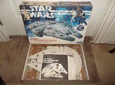 Vintage 1979 MPC Star Wars Millennium Falcon Model Kit, Open Box/Sealed Contents