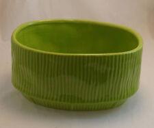 Green Lime Ceramic Flower Vase Clay Home Decor Vase Pot 13004-1