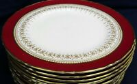 Royal Worcester REGENCY red salad plate up to 12 in stock