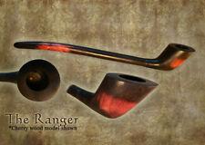 MacQueen Lord of The Fantasy Strider Churchwarden Ranger Pipe Smoke Rings Cherry