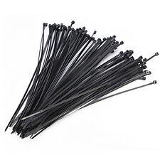 100pcs 2.5*100mm  Nylon Plastic Cable Ties Zip Fasten Wire Wrap Strap LC