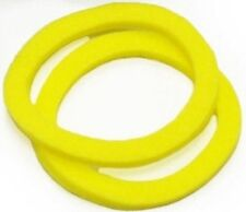 New Rock Shox Yellow Foam Ring 32mm 3.5mm Pair SID Reba Pike MTB Suspension Fork