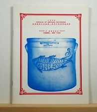 3 Behrs Catalog of Antique Stoneware Catalog 1990 Pottery Ceramics Pots Crocks