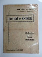 Rare Les petits albums Spirou 1941 Journal Spirou