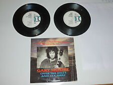 "GARY MOORE - Over The Hills And Far Away - 1986 UK 7"" double Vinyl Single"