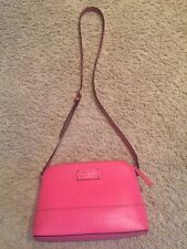 Kate Spade Hanna Wellesley Leather Cross Body Bag Pink