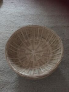 Set of 4 Wicker Baskets For Craft Gift Plant Floral Sweets Potpourri