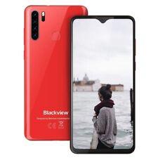 6.49 Zoll Blackview A80 Pro 4GB+64GB 4680mAh Handy Ohne Vertrag Smartphone Rot