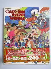 Capcom Design Works - Japan Original Version art book