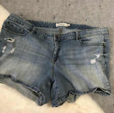 Torrid distressed denim shorts sz.26