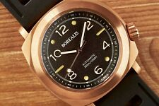 Borealis Navale Black Bronze CuSn8 Automatic Diver Watch Miyota 9015 Movement