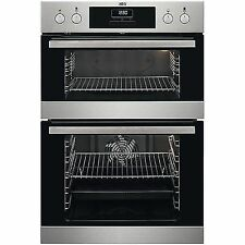 AEG Surroundcook DCB331010M Built-in Double Electric Oven Stainless Steel