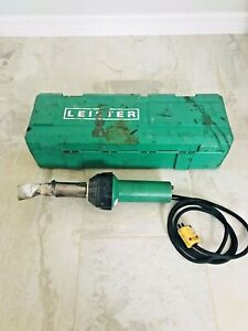 Leister Triac ST Hot Air Tool Heat Gun Welder & Case Please see Pictures