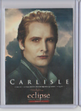 THE TWILIGHT SAGA ECLIPSE TRADING CARD Peter Facinelli as Carlisle #89