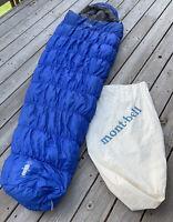 Mont-Bell Ultra Light Super Stretch 800-Fill Down Hugger #4 Mummy Sleeping Bag