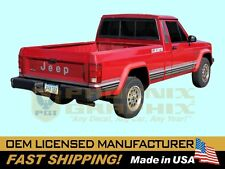 1988 1989 1990 OEM CORRECT Jeep Comanche Eliminator Pickup Truck Decals Stripes