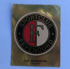 Panini Fussballsticker 1980   S.C. Feyenoord  Gold Wappen Fussballbild