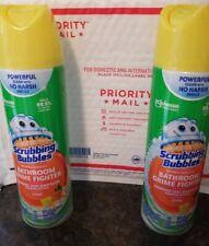 Scrubbing Bubbles Mega Citrus Foamer BATHROOM Cleaner 20fl oz 2 cans kills germs