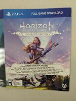 HORIZON ZERO DAWN COMPLETE * PS4 GAME DIGITAL CODE