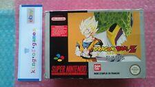 ♕ Original DRAGON BALL Z Bandai PAL SUPER NES SNES SUPER NINTENDO 🌊🔥