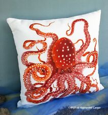 POTTERY BARN OUTDOOR OCTOPUS PILLOW –NWT– HOW DOES THIS ONE GRAB YA?!