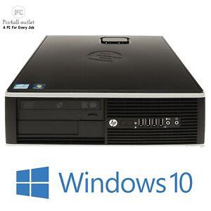 HP Elite 8200 SFF PC Intel Pentium G620 2.6GHz 4GB 250GB DVD-RW Windows 10 Wifi