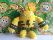 Pokemon Plush Elekid Stuffed Doll figure Bandai Friends Series Toy US Seller