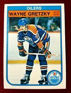 1982-83 OPC O-Pee-Chee #106 WAYNE GRETZKY HOF Edmonton Oilers