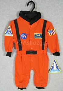 AEROMAX NASA JR. ASTRONAUT SPACE FLIGHT SUIT-Toddler Romper Costume 6-12 mos NEW