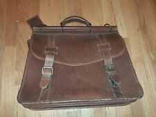 korchmar Brown leather briefcase