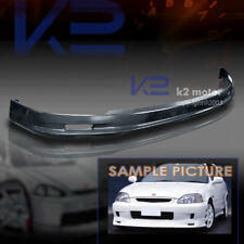 For 2001-2003 Honda Civic 2/4Dr ABS MU Style Front Bumper Lip Spoiler