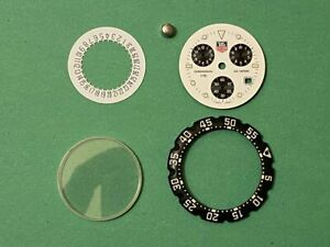 TAG Heuer Chronograph Watch  Dial  Date Disk Hands Crystal. Swiss made. Genuine