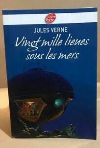 Vingt mille lieues sous les mers - Texte Abrégé   Verne Jules Manchu   Bon état